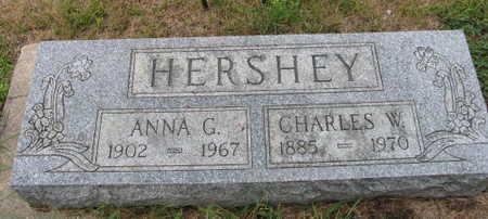 HERSHEY, CHARLES W. - Linn County, Iowa | CHARLES W. HERSHEY
