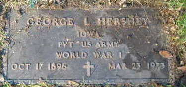 HERSHEY, GEORGE L. - Linn County, Iowa | GEORGE L. HERSHEY