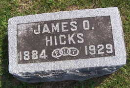 HICKS, JAMES O. - Linn County, Iowa | JAMES O. HICKS