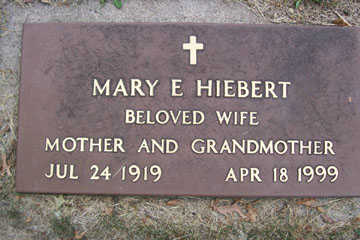 HIEBERT, MARY E. - Linn County, Iowa | MARY E. HIEBERT