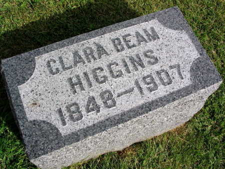 BEAM HIGGINS, CLARA - Linn County, Iowa | CLARA BEAM HIGGINS