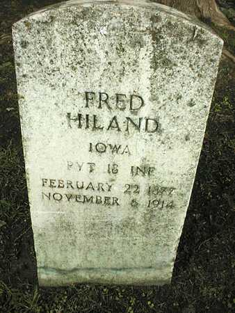 HILAND, FRED - Linn County, Iowa | FRED HILAND