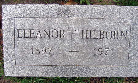 HILBORN, ELEANOR F. - Linn County, Iowa | ELEANOR F. HILBORN