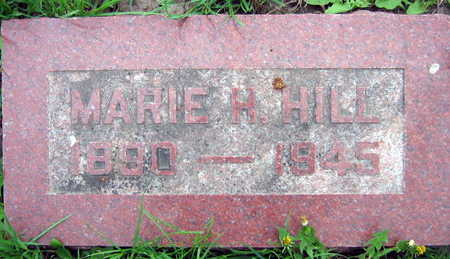 HILL, MARIE H. - Linn County, Iowa | MARIE H. HILL
