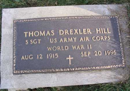 HILL, THOMAS DREXLER - Linn County, Iowa | THOMAS DREXLER HILL