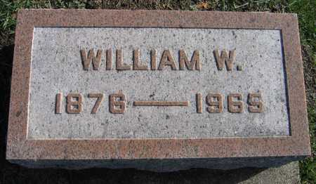 HILL, WILLIAM W. - Linn County, Iowa | WILLIAM W. HILL