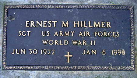 HILLMER, ERNEST M. - Linn County, Iowa | ERNEST M. HILLMER