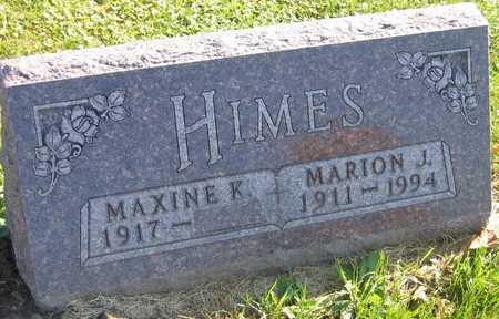HIMES, MARION J. - Linn County, Iowa | MARION J. HIMES