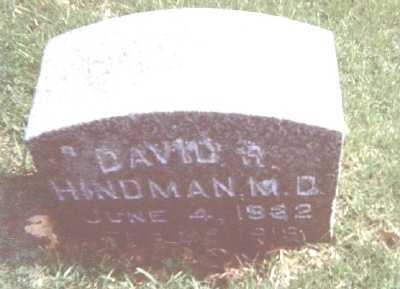 HINDMAN, DAVID R. - Linn County, Iowa | DAVID R. HINDMAN