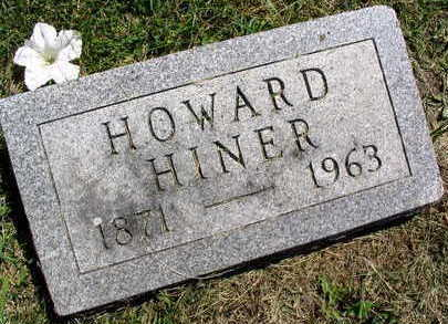 HINER, HOWARD - Linn County, Iowa | HOWARD HINER