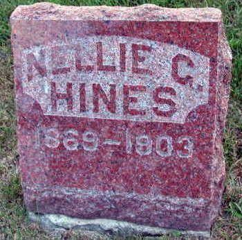 HINES, NELLIE C. - Linn County, Iowa | NELLIE C. HINES