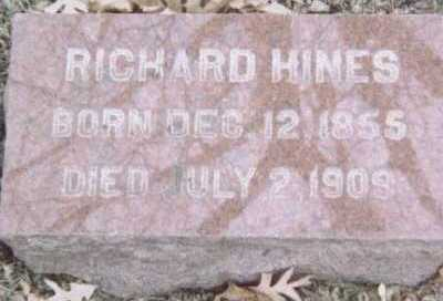 HINES, RICHARD - Linn County, Iowa | RICHARD HINES