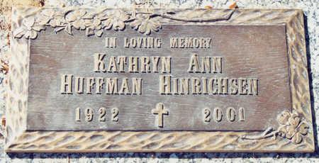 HOPPE HINRICHSEN, KATHRYN ANN - Linn County, Iowa | KATHRYN ANN HOPPE HINRICHSEN