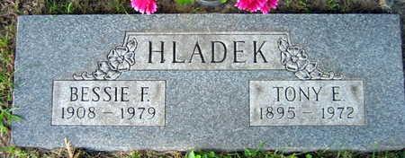 HLADEK, BESSIE F. - Linn County, Iowa | BESSIE F. HLADEK