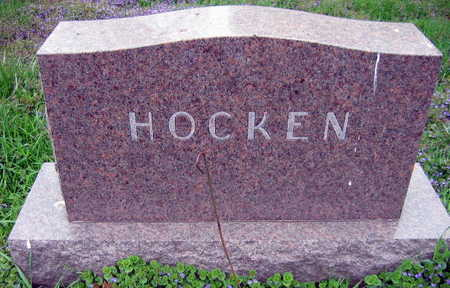 HOCKEN, FAMILY STONE - Linn County, Iowa | FAMILY STONE HOCKEN