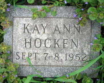 HOCKEN, KAY ANN - Linn County, Iowa | KAY ANN HOCKEN