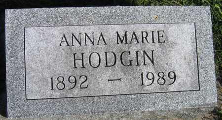 HODGIN, ANNA MARIE - Linn County, Iowa | ANNA MARIE HODGIN