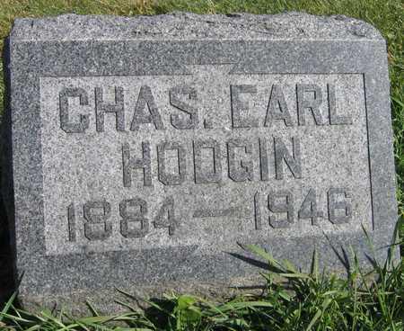HODGIN, CHAS. EARL - Linn County, Iowa | CHAS. EARL HODGIN