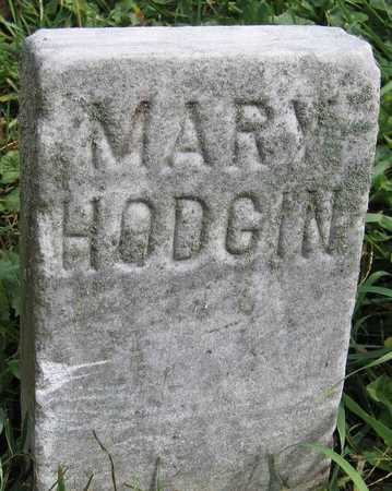 HODGIN, MARY - Linn County, Iowa | MARY HODGIN