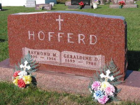 HOFFERD, GERALDINE D. - Linn County, Iowa | GERALDINE D. HOFFERD