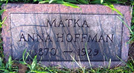 HOFFMAN, ANNA - Linn County, Iowa | ANNA HOFFMAN