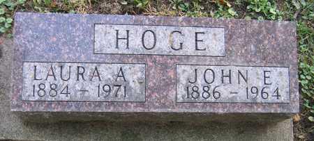 HOGE, LAURA A. - Linn County, Iowa | LAURA A. HOGE