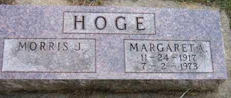 HOGE, MARGARET A. - Linn County, Iowa | MARGARET A. HOGE
