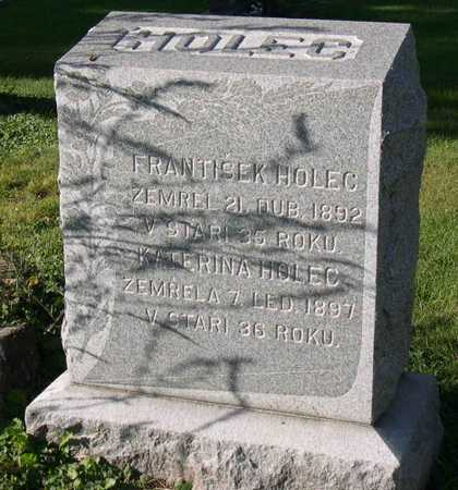 HOLEC, KATERINA - Linn County, Iowa | KATERINA HOLEC