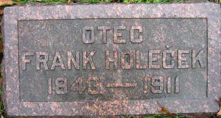 HOLECEK, FRANK - Linn County, Iowa | FRANK HOLECEK