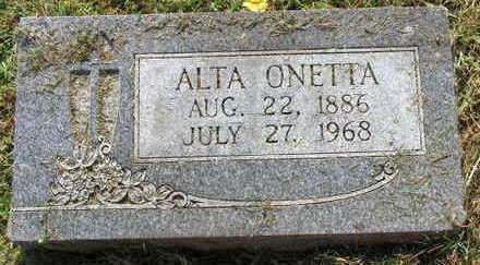 HOLETS, ALTA ONETTA - Linn County, Iowa | ALTA ONETTA HOLETS