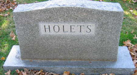 HOLETS, FAMILY STONE - Linn County, Iowa | FAMILY STONE HOLETS