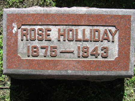 HOLLIDAY, ROSE - Linn County, Iowa | ROSE HOLLIDAY