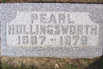 HOLLINGSWORTH, PEARL - Linn County, Iowa | PEARL HOLLINGSWORTH