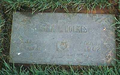 COOMBS HOLMES, EMMA - Linn County, Iowa | EMMA COOMBS HOLMES