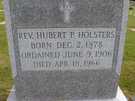HOLSTERS, REV. HUBERT P. - Linn County, Iowa | REV. HUBERT P. HOLSTERS