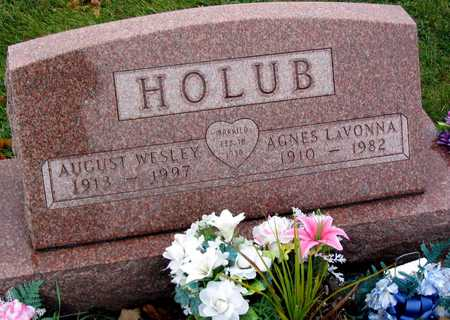 HOLUB, AUGUST WESLEY - Linn County, Iowa | AUGUST WESLEY HOLUB