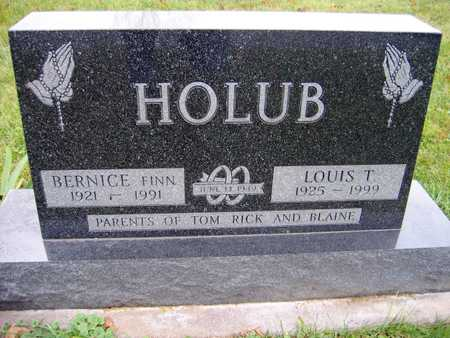 HOLUB, LOUIS T. - Linn County, Iowa | LOUIS T. HOLUB