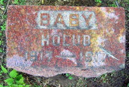 HOLUB, BABY - Linn County, Iowa | BABY HOLUB
