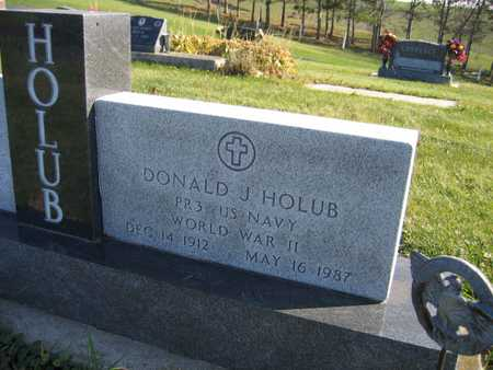 HOLUB, DONALD J. - Linn County, Iowa | DONALD J. HOLUB