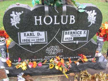 HOLUB, EARL D. - Linn County, Iowa | EARL D. HOLUB