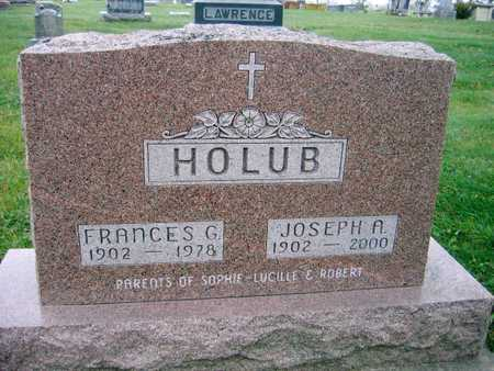 HOLUB, FRANCES G. - Linn County, Iowa | FRANCES G. HOLUB