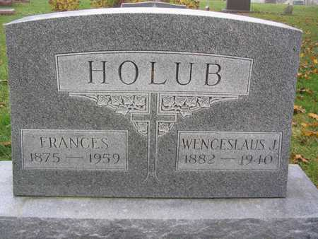 HOLUB, FRANCES - Linn County, Iowa | FRANCES HOLUB