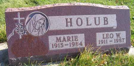 HOLUB, LEO W. - Linn County, Iowa | LEO W. HOLUB