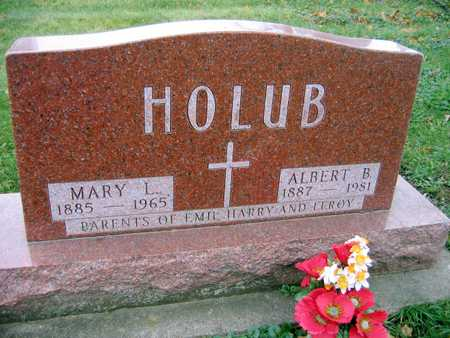 HOLUB, MARY L. - Linn County, Iowa | MARY L. HOLUB