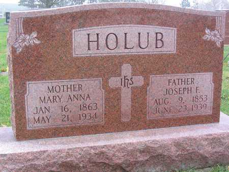 HOLUB, MARY ANNA - Linn County, Iowa | MARY ANNA HOLUB