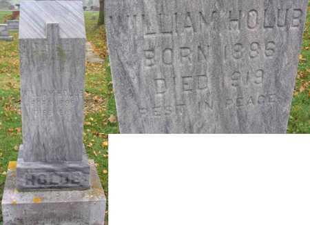 HOLUB, WILLIAM - Linn County, Iowa   WILLIAM HOLUB