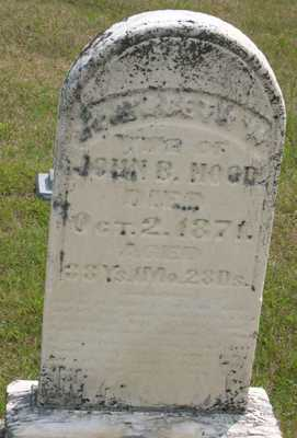 HOOD, ELIZABETH W. - Linn County, Iowa | ELIZABETH W. HOOD