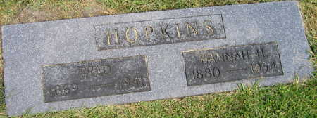 HOPKINS, FRED - Linn County, Iowa | FRED HOPKINS