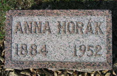 HORAK, ANNA - Linn County, Iowa | ANNA HORAK