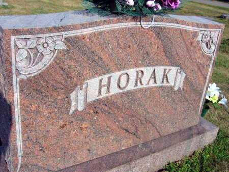 HORAK, FAMILY STONE - Linn County, Iowa | FAMILY STONE HORAK